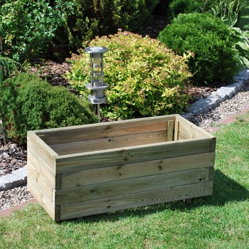 161. NORFOLK rectangular medium planter 750x350x305 made from 25 x 70 elements