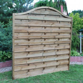 204, 259. DEVON WAVE - PREMIER FENCE PANEL