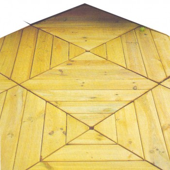 34. DECKING TILE DIAGONAL