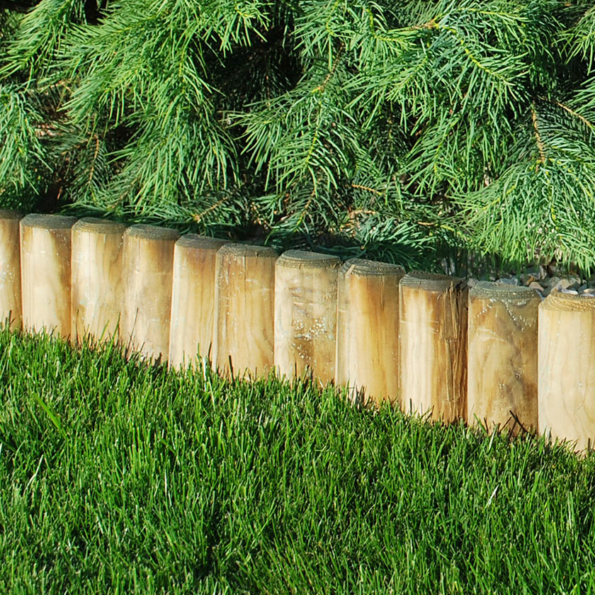Log rolls and borders